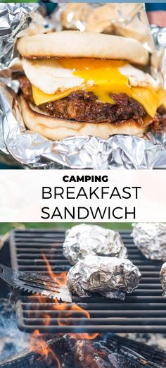 BBQ Pulled Pork English Muffin Camping Breakfast Sandwiches Who said camping breakfast couldn't be fancy? These BBQ Pulled Pork English Muffin Camping Breakfast Sandwiches are ridiculously easy and go Camping Desserts, Vegetarian Camping Recipes, Camping Meals, Camping Cooking, Camping Tips, Family Camping, Outdoor Camping, Camping Dishes, Camping Bbq