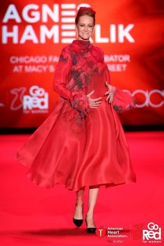 d807e75c1e44 Love this celeb wearing red in support of wmn's heart health at the Red  Dress Collection 2015 presented by GoRed