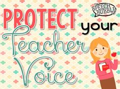 How to protect your 'Teacher Voice' and avoid writing sub plans!