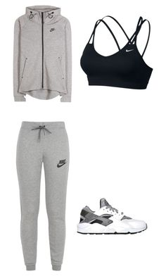 """Sport"" by giannajack on Polyvore featuring NIKE"