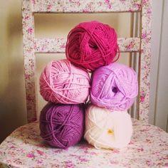 Beautiful yarn palette.