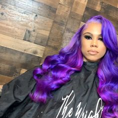 Blue Wigs Lace Hair Lace Frontal Wigs Cheap Lace Wigs Straight Back Wig Beeos Hair Purple Hair Black Girl, Mint Green Hair, Hair Color Purple, Hair Colors, Black Girls, Black Women, Natural Hair Growth, Natural Hair Styles, Cheap Lace Front Wigs