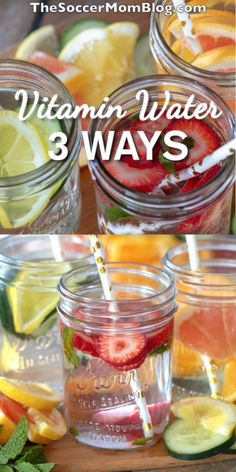 Vitamin Water Fruit Infused Water: Ditch the Soda for these 3 Flavor-Packed Recipes! Music: Fruit Infused Water: Ditch the Soda for these 3 Flavor-Packed Recipes! Flavored Water Recipes, Detox Juice Recipes, Detox Drinks, Healthy Drinks, Healthy Snacks, Detox Juices, Healthy Recipes, Drink Recipes, Healthy Steak