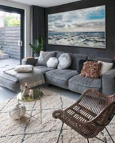 Living Room Ideas 2019, Living Room Modern, Living Room Decor, Living Rooms, Modern Wall Art, Large Wall Art, Modern Contemporary, Contemporary Artwork, Contemporary Kitchens