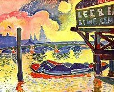 Andre Derain: Black Friars Bridge - 1906