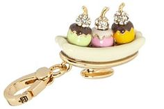 Juicy Couture banana split charm A
