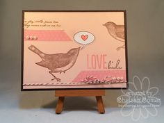 Chelsea's Creative Corner: Love Birds ...