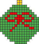 kerst strijkkralen