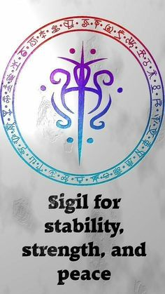 Sigil for stability and peace