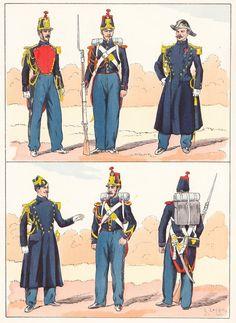 French; Garde de Paris, 1854