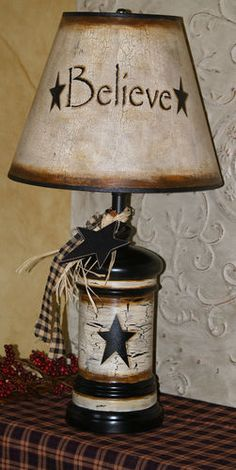 Country Farm House Vintage Primitive Star Large Utensil Holder and More | eBay
