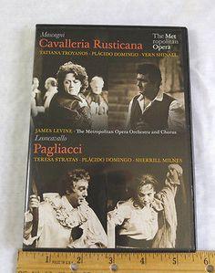DVD - CAVALLERIA RUSTICANA / PAGLIACCI - Placido Domingo - Metropolitan Opera