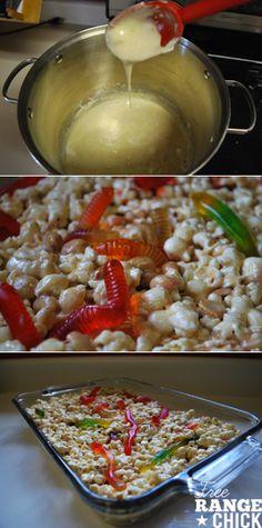 Creepy Crawler Popcorn