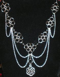 Chain maille jewelry by Lonewolfchainmaille on Etsy