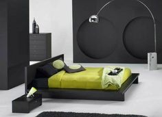 Design tres elegant chambre d'un garcon adolescent