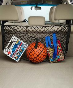 Loving this Cargo Net on #zulily! #zulilyfinds   I like the idea of this style in a minivan where it doesn't go all the way to the floor