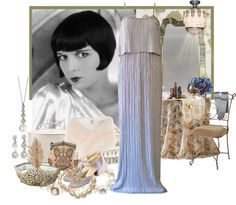 """""""It Girl of the 1920's, Louise Brooks."""" by sera-148 ❤ liked on Polyvore"""