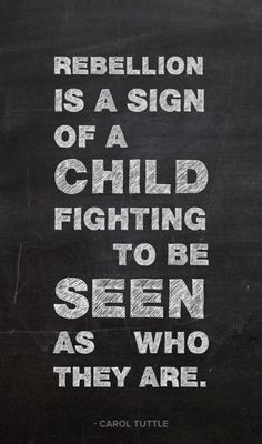 See the child within.