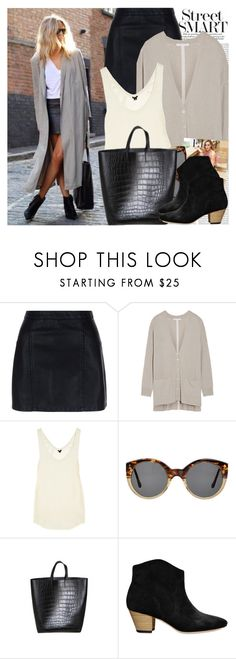 """2582. Street Style"" by chocolatepumma ❤ liked on Polyvore featuring New Look, Oris, Duffy, 3.1 Phillip Lim, Illesteva and Isabel Marant"
