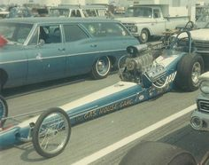Gas House Gang Top Fueler at Indy in 1968 Cool Old Cars, Old Race Cars, Nhra Racing, Drag Bike, Funny Cars, Vintage Race Car, Drag Cars, Car Humor, Fast Cars