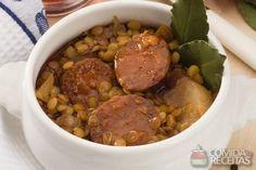 Receita de Lentilha com linguiça em receitas de legumes e verduras, veja essa e outras receitas aqui!