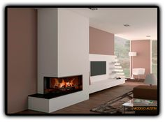 Chimeneas modernas de diseño - Chimeneas Magma