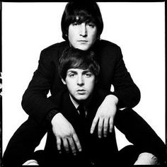 David Bailey - John Lennon and Paul Mccartney