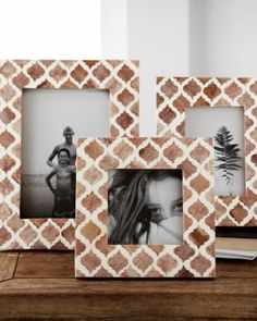 Moroccan Tile Picture Frame from Garnet Hill