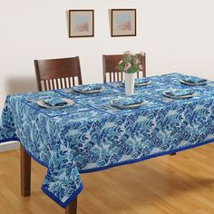 Buyaqua leaf designer dining room table covers online in India from saavra.com&impart a look of freshness in your dining space. Free Shipping Available.