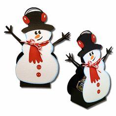 Snowman and Reindeer Sucker Covers