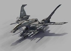 Fighter Concept + Now with WIP images + Desc by Pinakes