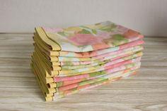 INSPIRATION:  Cloth Table Napkins