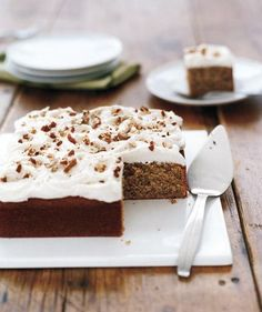 Pecans give this cake its nutty taste and texture. | A deliberately tempting photo gallery of sweet treats.
