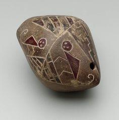 Vessel flute (?)      Capulí culture, before 500 B.C.       Northern Highlands, Ecuador