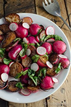 Sweet Sautéed Radishes >> Check out Front Door Farms #Radishes HERE: http://www.frontdoorfarms.com/products/radishes
