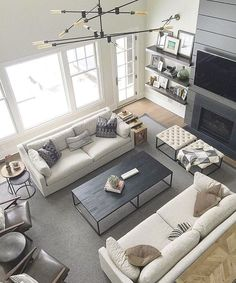 48 Cozy Living Room Seating Arrangement Design - # Check more at wohnzimmer. - 48 Cozy Living Room Seating Arrangement Design – # Check more at wohnzimmer.frisur… 48 Cozy L - Living Room Seating, Cozy Living Rooms, Living Room Interior, Seating Room Ideas, Living Spaces, Living Room Couches, Living Room Stools, Room Chairs, Living Room Green