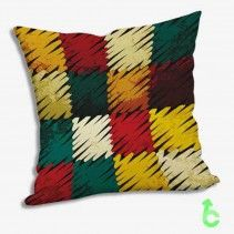 Abstract square color Exquisite Pillow Cases