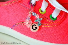 Shoe Jewelry: Decorate Your Keds! | Simple Simon and Company