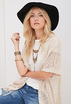 Open-Knit Cardigan | Forever 21 - 2000082253