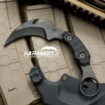 James Coogler Carbon Fiber Night Stalker Karambit