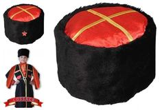 ba0fd8ee7a6 New Russian Cossack Hat KUBANKA The Kuban Kozaks Headwear With Army Star  Badge