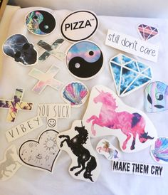 Indie Hipster Stickers by Inamazefashion on Etsy Macbook Stickers, Macbook Decal, Macbook Case, Png Tumblr, Planners, Indie Hipster, Continental, Pin And Patches, Cute Stickers