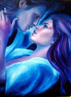 beautiful fantasy art paintings of lovers Twin Flame Love, Twin Flames, Love Twins, Flame Art, Wolf, Twin Souls, Fantasy Paintings, Art Paintings, Watercolor Paintings