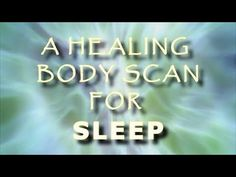 Healing Body scan Guided meditation for sleep and deep relaxation Guided Meditation For Sleep, Meditation Videos, Meditation Practices, Meditation Music, Mindfulness Meditation, Meditation Youtube, Healing Meditation, Workout For Beginners, Beginner Workouts