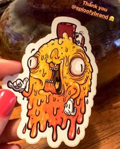 IT'S FRIDAY! Who's getting on this guy's level?!  Pic courtesy of @420.lovebug who got her 1st Sploofy! Woot Woot!  #frihighday #fridayvibes #HappyFriday #dabcity #stayhigh #concentrates #dailydabs #chillvibes #dabsrus #stonerbabe #dabstagram #stickerart