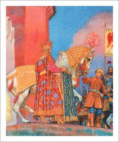 Russian fairy tales. Illustrator - Victor Britvin