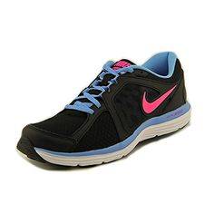 745498b9ec105 Nike Dual Fusion St 3 Women US 10 Black Running Shoe     You can