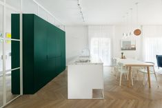 Renovated Bauhaus apartment by Lital Ophir and Ilana Bronfen