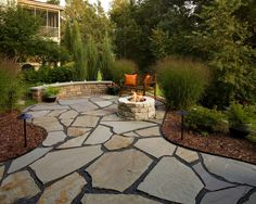 Beau Flagstone Patio Design, Pictures, Remodel, Decor And Ideas   Page 14 Small  Backyard