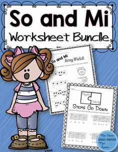 Set of 20 practical worksheets for so and mi.